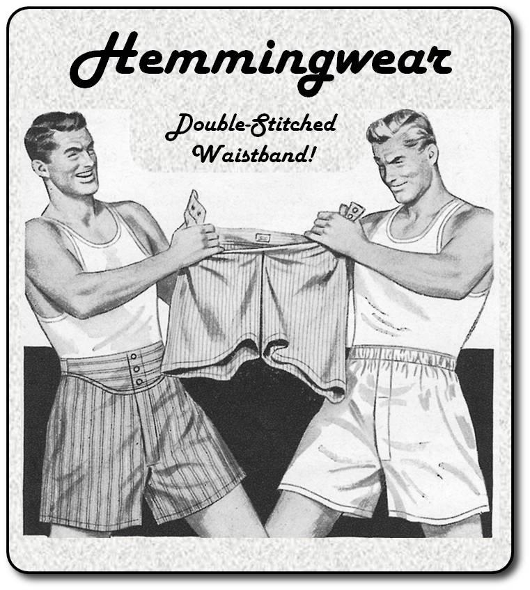 Hemmingwear ad