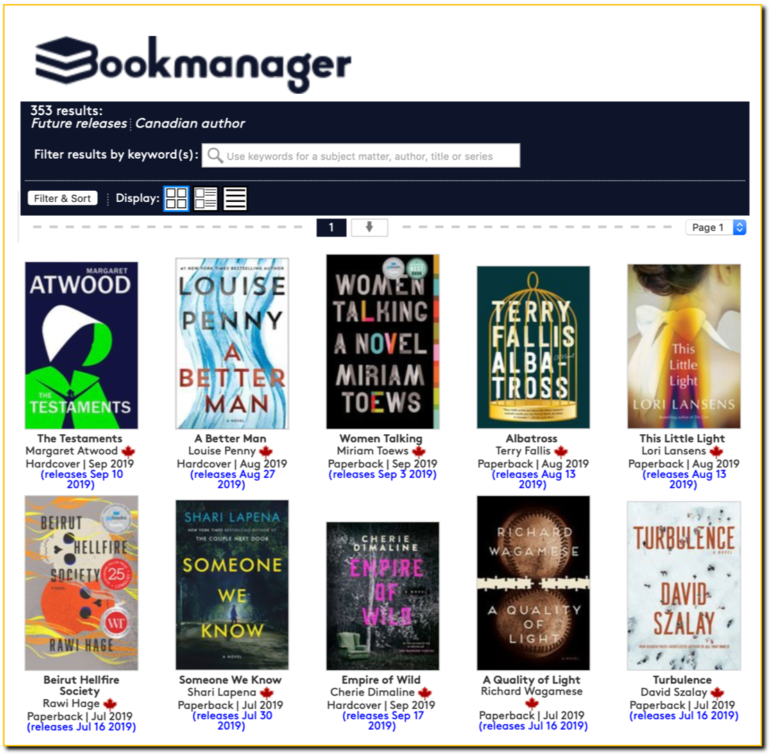 Bookmanager Albatross 190702