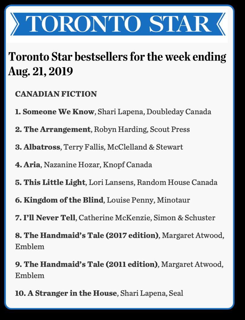 Toronto Star 190821