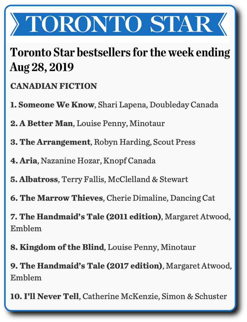 Toronto Star 190828