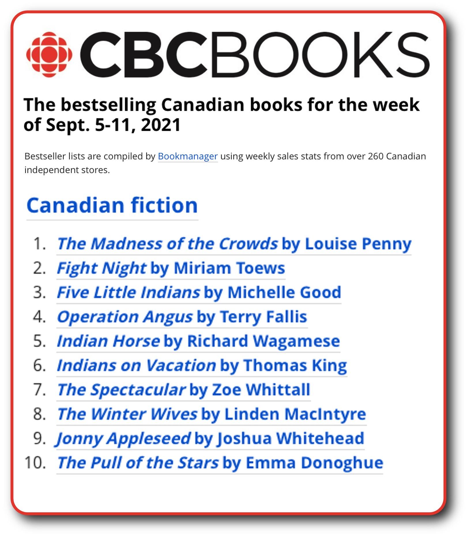 CBC List Sept 11