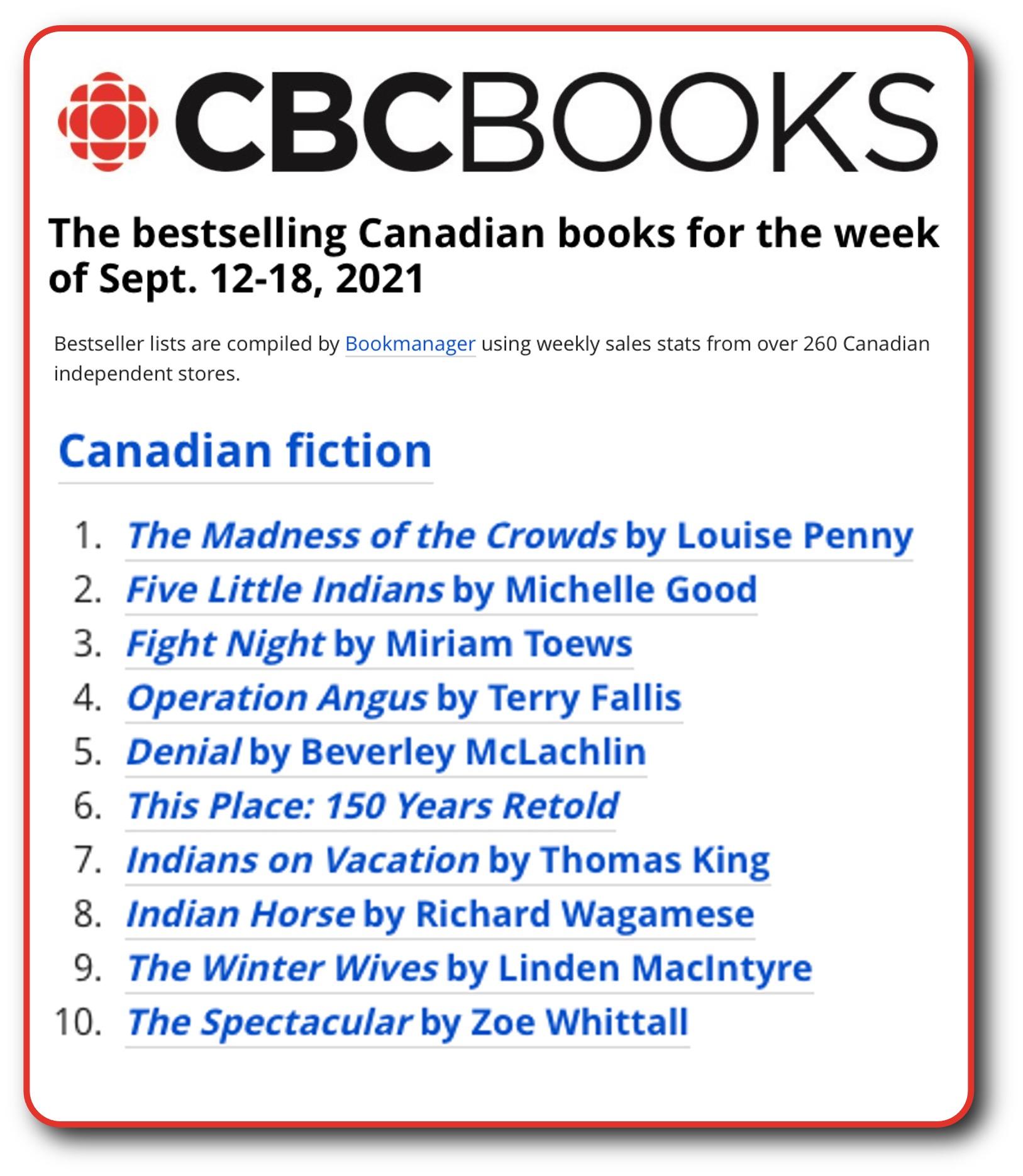 CBC List Sept 18