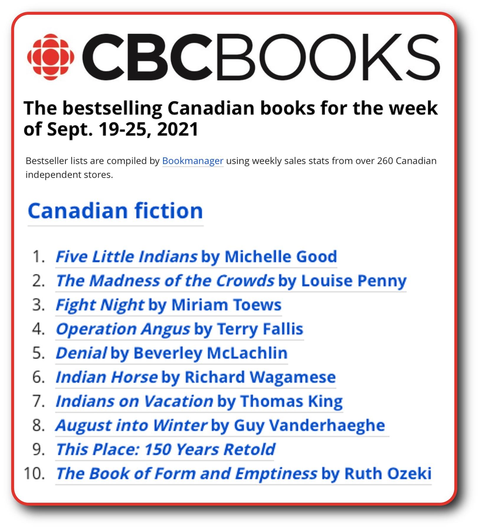 CBC List Sept 25