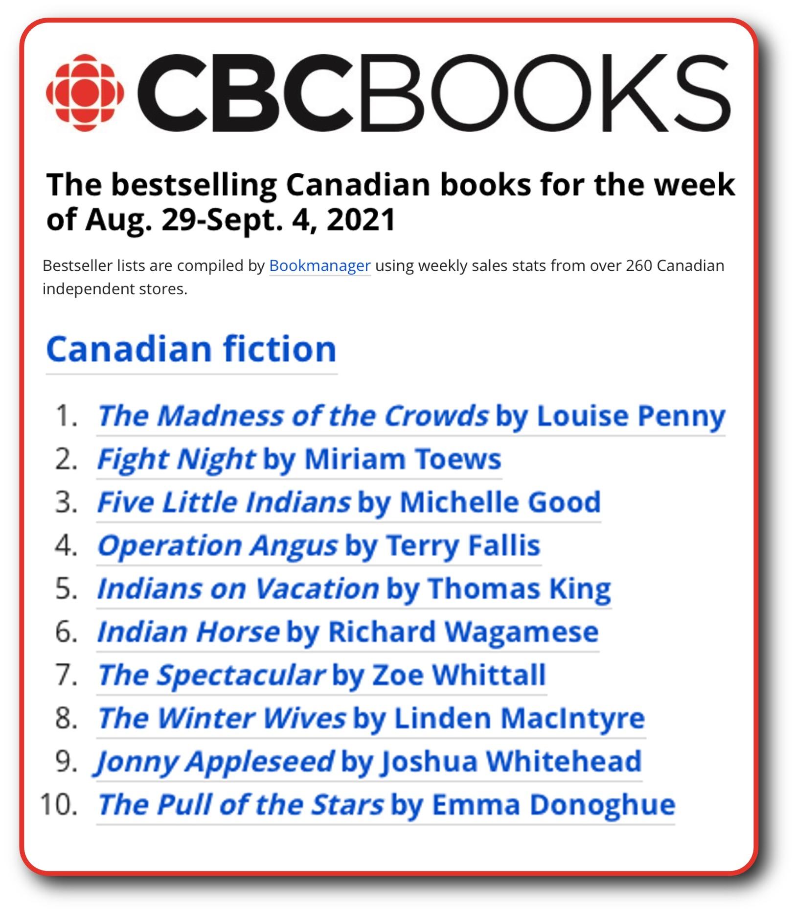 CBC List Sept 4