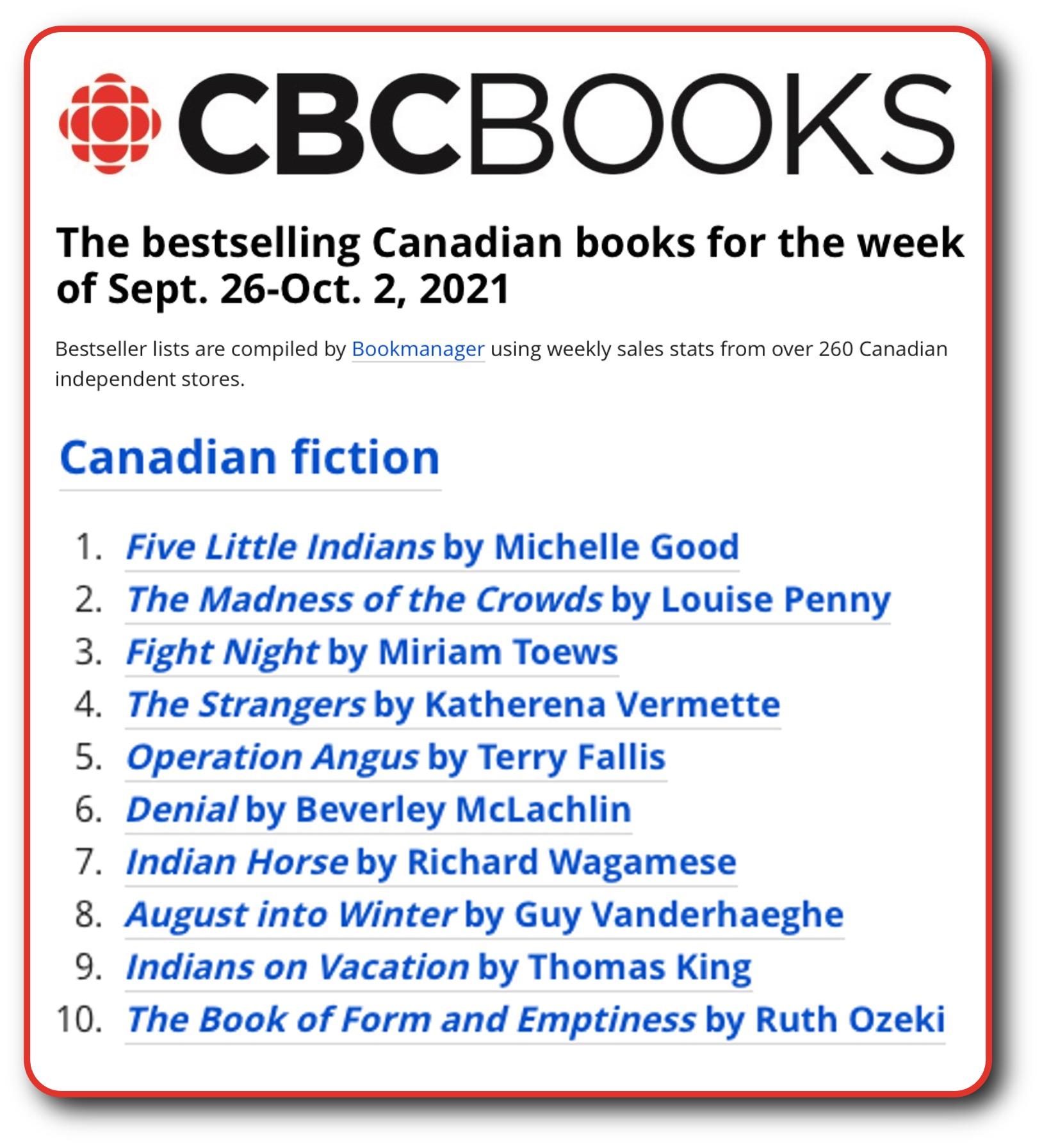CBC List Oct 2