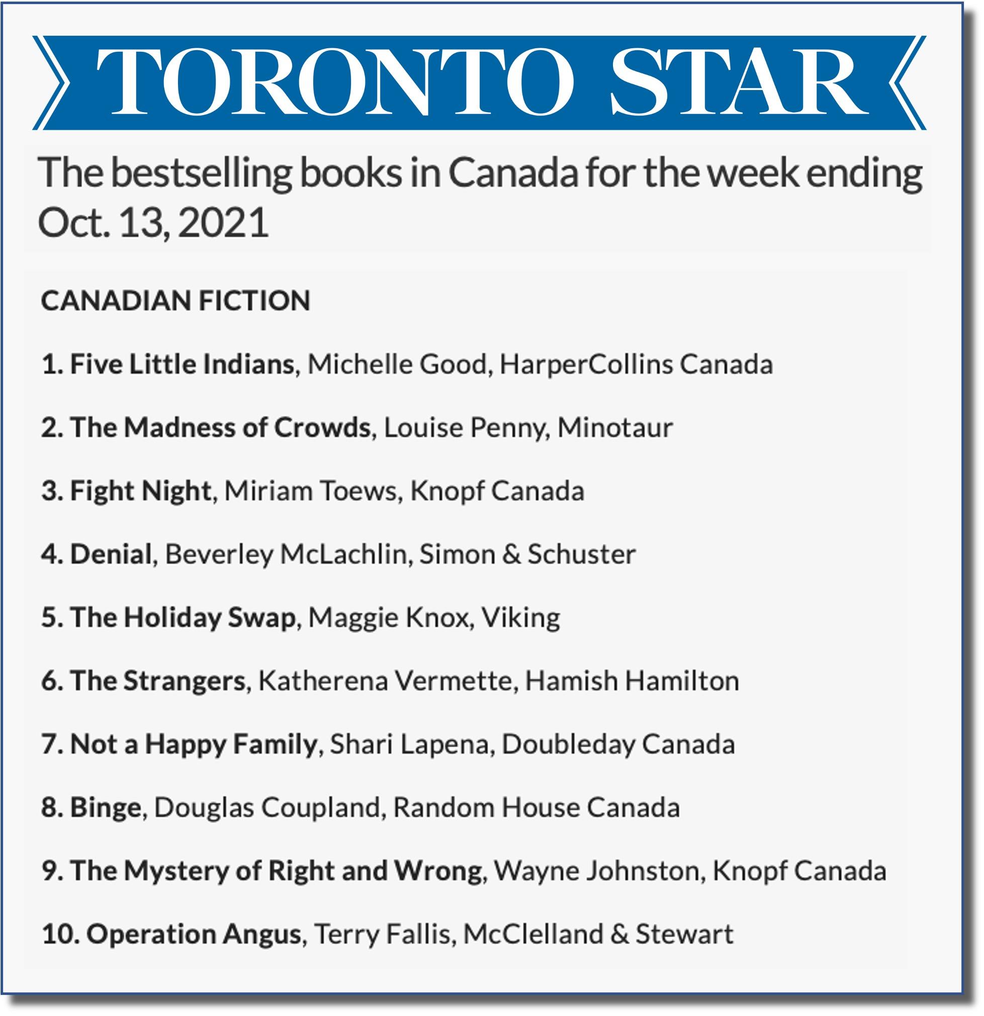 Toronto Star Oct 13