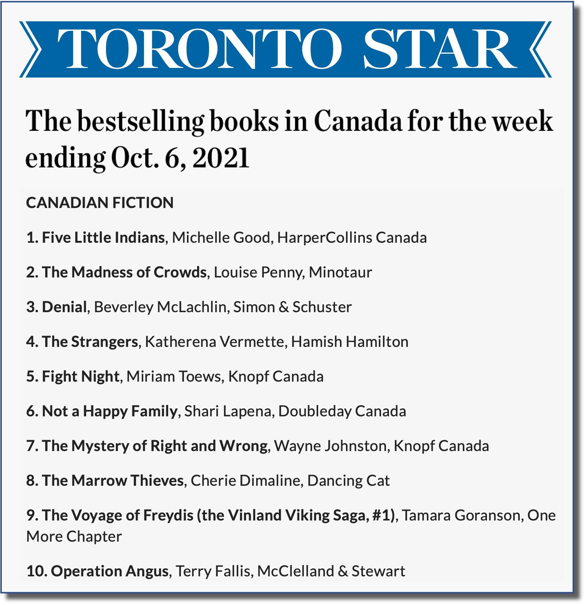 Toronto Star Oct 6